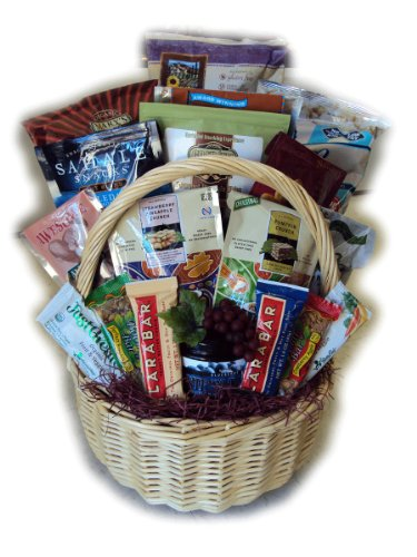Gluten Free Group Healthy Gift Basket by Well Baskets by Well Baskets