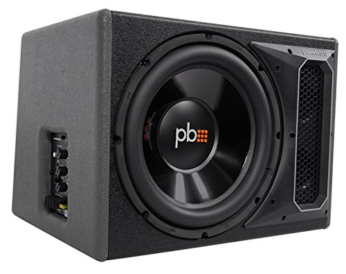 POWERBASS PS-AWB121 12'' 200w RMS Powered Subwoofer In Sub Box Enclosure+Amp Kit by PowerBass (Image #3)