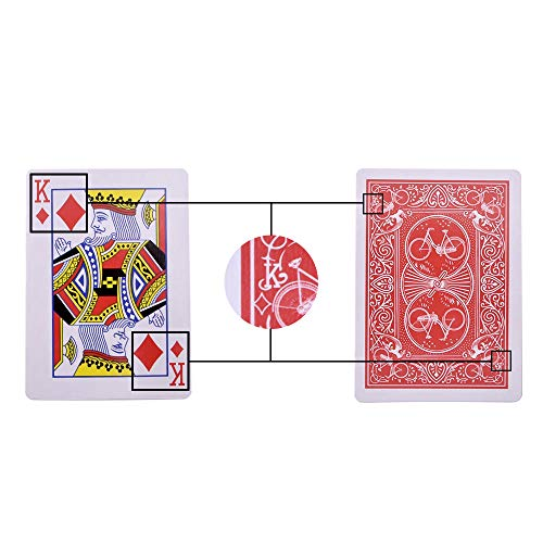 Doowops Marked Stripper Deck Playing Cards Poker Magic Tricks Close-up Street Illusion Gimmick Mentalism Kid Child Puzzle Toy Magic Card (Marked Playing Cards)