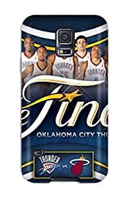 Best 2740321K388612367 oklahoma city thunder basketball nba NBA Sports & Colleges colorful Samsung Galaxy S5 cases