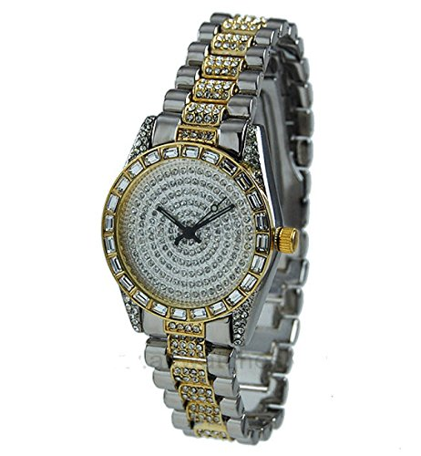 platinum iced out watch - 8
