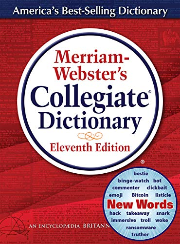 Merriam-Webster's Collegiate Dictionary (Best School Library Websites)