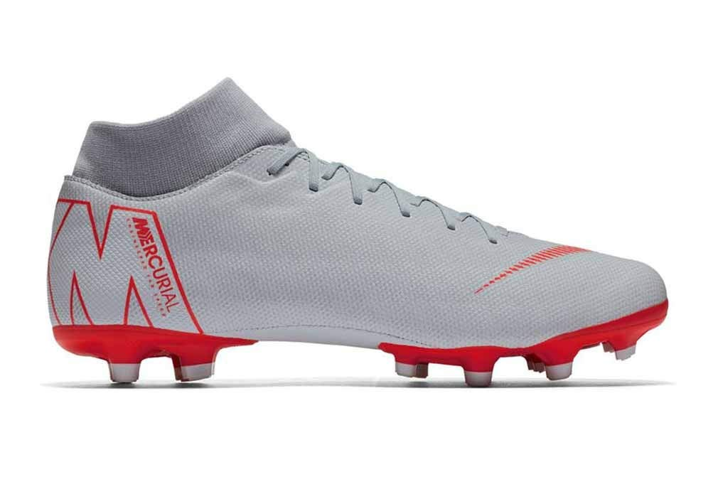 timeless design 83080 9d25c Galleon - NIKE Mens Superfly 6 Academy MG Wolf Grey LT Crimson ...