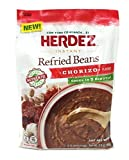 Herdez Instant Refried Beans Chorizo Pouch (Pack of 3) - 5.6 oz