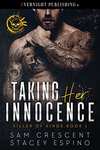 Want a lot of hot action, in and out of the bedroom? She is sweet and innocent, he is dark and deadly. Problem is, she has a contract on her head and is his next hit. Taking Her Innocence (Killer of Kings Book 1) by Sam Crescent and Stacey Espino