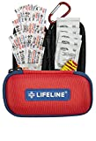 Lifeline 30-Piece First Aid Kit (Red)