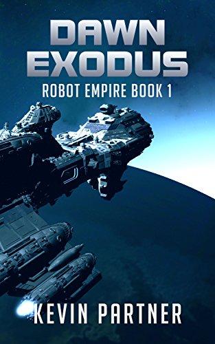 Robot Empire Science Fiction Adventure ebook product image
