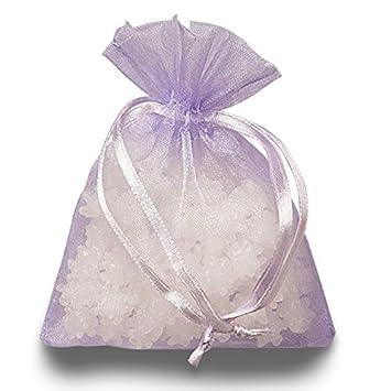 Amazon.com: Lavanda bolsas de regalo de Organza   Cantidad ...