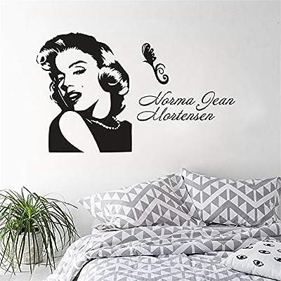 pegatina de pared frases Marilyn Monroe Retrato Etiqueta de la ...