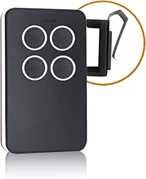 Universal Garage Door Opener Remote With Intellicode Security Technology Control Up To 4 Garage Door Remote Compatible With Genie Garage Door Openers White Amazon Com