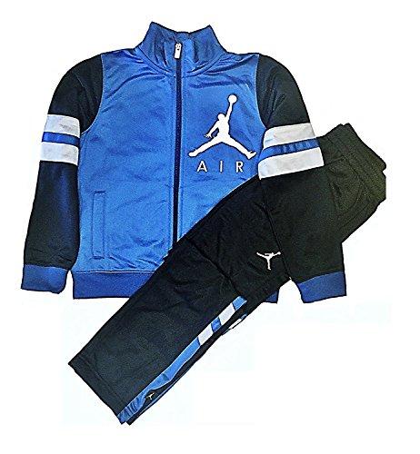 1b58543b30 Galleon - NIKE Air Jordan Boys' Jacket Tracksuit Pants Outfit Track Set (6,  Blue Black)