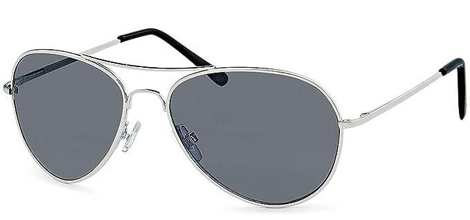 Chic-Net Sonnenbrille Unisex Pilotenbrille Fliegerbrille verspiegelt getönt 400UV Klarglas Pornobrille violett OaDk00