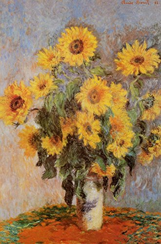 (Sunflowers, 1881 by Claude Monet - 36 x 24 inches - Fine Art Print / Poster Poster Print by Claude Monet, 24x36)