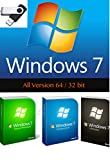 Windows 7 - All edition in 1 USB Drive 64 & 32 Bit Install/Upgrade/Repair Multi Bootable USB With FREE INSTANT TEXT MESSAGING TECH SUPPORT