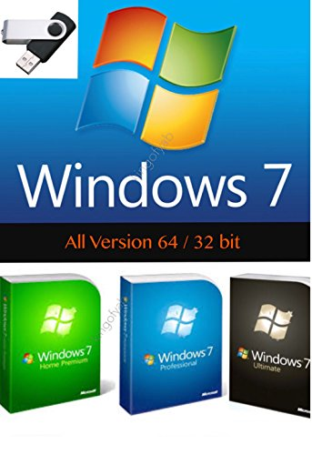 Windows 7   All Edition In 1 Usb Drive 64   32 Bit Install Upgrade Repair Multi Bootable Usb With Free Instant Text Messaging Tech Support