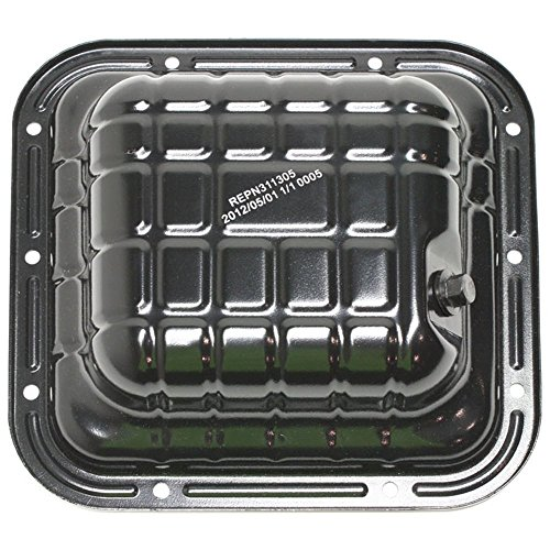 Oil Pan for Nissan Altima 93-01 Steel 4.2 in. Depth 6 Lbs. Weight 3.34 Qts. Capacity M14 X 1.5 Drain Plug