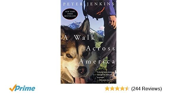 A Walk Across America: Peter Jenkins: 9780060959555: Amazon ... Map Route Of A Walk Across America Peter Jenkins Walked on