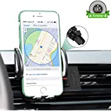 Phone Holder for Car Car Phone Mount 360° Rotation Air Vent Cell Phone Car Mount for iPhone X 8 8 Plus 7 7 Plus 6s 6 Plus 5s Samsung Galaxy S9 S8 S8 Plus S7 S6 and More Smartphones