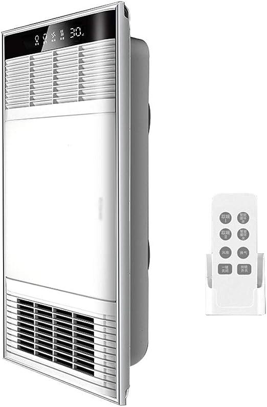 GXFC Ventilador de Techo para baño, Extractor de Aire Luz de ...