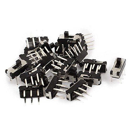 tion DPDT 2P2T 6 Pin PCB Panel Mini Vertical Slide Switch (Slide Volume Control Knob)