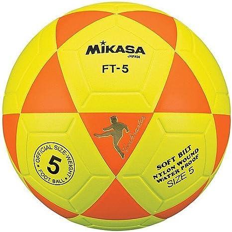 Mikasa Meta Maestro, Color Naranja y Amarillo, tamaño Talla 5 ...
