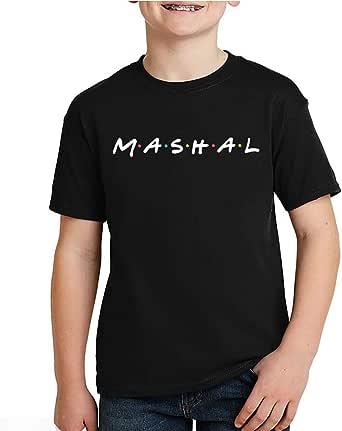 kharbashat Mashal T-Shirt for Boys, Size 34 EU
