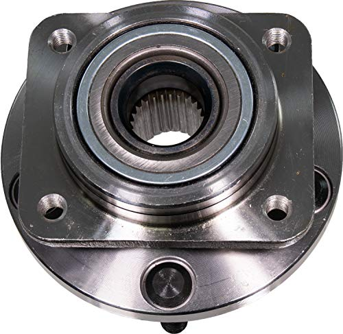 (APDTY 513074 Wheel Hub Bearing Assembly Fits Front Left Or Right 1990-1995 Chrysler Town & Country, 1988 Dodge Mini Ram, 1988-1995 Caravan & Grand Caravan, 1989-1995 Plymouth Voyager & Grand)