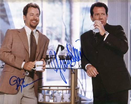 WHAT PLANET ARE YOU FROM signed 8x10 by Greg Kinnear Garry Shandling  UACC RD  212