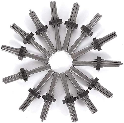 14Pcs 16mm Splitting Hand Tool For Wedge And Feather Shims /& Concrete Marble Granite Rock Stone metal Ants-Store