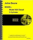 John Deere 820 Tractor Service Manual (Diesel)