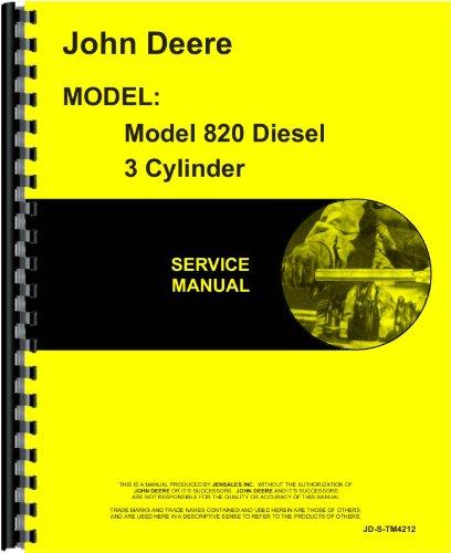 John Deere 820 Tractor Service Manual