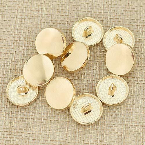 10pcs Crown buttons Antique Gold or Antique Silver  Colour You Pick Size