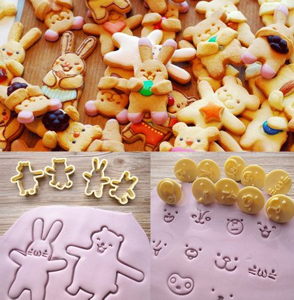 Astra shop Newest 14PCS Fashion Bunny & Bear