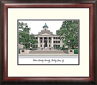 Western Kentucky University Alumni Exquisitely Framed Imprinted Lithograph - 2017 Graduation Diploma Frame