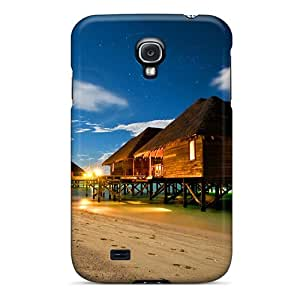 Fashion Tpu Case For Galaxy S4- Summer Night Hdr Defender Case Cover