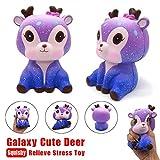 Gilroy Slow Rising Toy, Galaxy Deer Dinosaur Shape