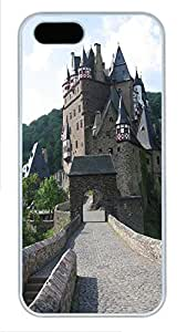 iPhone 5 5S Case Landscapes Castle PC Custom iPhone 5 5S Case Cover White