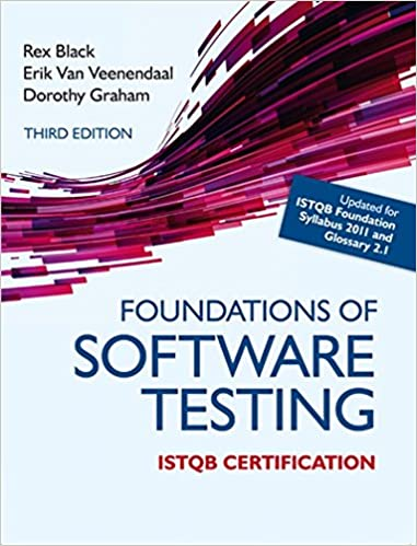 Book Foundations of Software Testing ISTQB Certification
