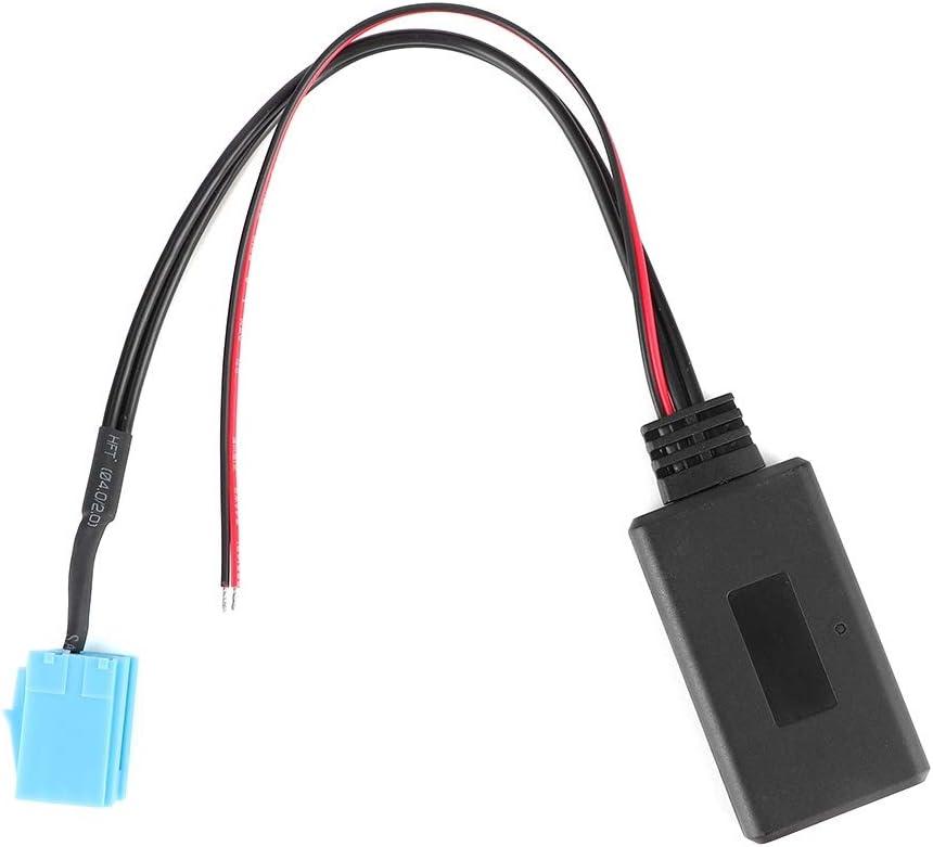 8 Pines Rosilesi L/ínea AUX Bluetooth de 1 M/ódulo de Cable AUX Bluetooth L/ínea de Adaptador de Radio Accesorios de Audio para autom/óvil Aptos para Blaupunkt