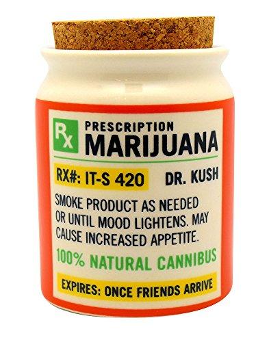Nug Jar - Stash it Jar - Prescription 3