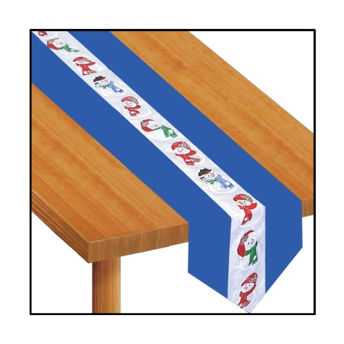 Snowman Fabric Table Runner Accessory