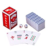 fengshuisale Traditional Chinese Mahjong Playing Cards 144 Card Set W3176