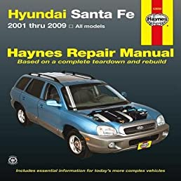 hyundai santa fe automotive repair manual author haynes rh amazon com 2015 Hyundai Santa Fe hyundai santa fe dm 2013 service manual