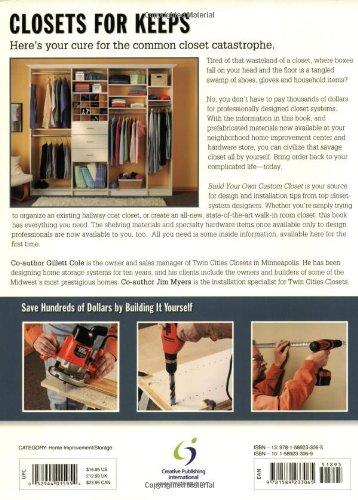 Black & Decker Build Your Own Custom Closet: Designing, Building & Installing Custom Closet Systems by Creative Publishing International (Image #1)