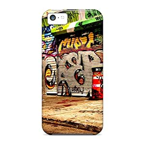 meilz aiaiFirst-class Cases Covers For iphone 5/5s Dual Protection Covers Graffiti Streetmeilz aiai