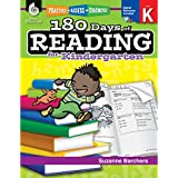 180 Days of Reading for Kindergarten (Ages 4 - 6) Easy-to-Use Kindergarten Workbook to Improve Reading Comprehension Quickly, Fun Daily Phonics Practice for Kindergarten Reading (180 Days of Practice)
