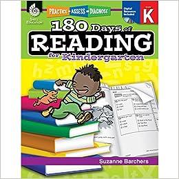 Amazoncom 180 Days Of Reading For Kindergarten Kindergarten