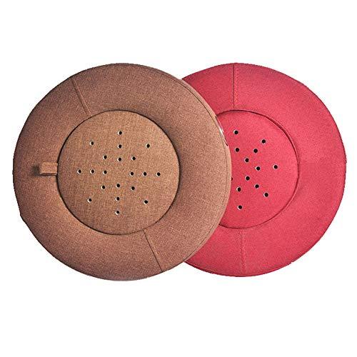 Moxibustion Pad, Smokeless Moxa Box Burner Moxibustion Box Seat Cushion Belly,Waist,Hip,Back,Neck,Leg,Feet Pain Release-red (Cushion Seat Herbal)