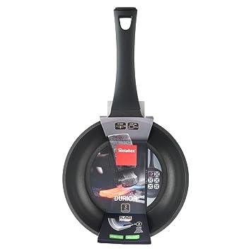 Metaltex DURIOR - Sartén Aluminio Fundido, 20 cm, antiadherente 2 capas, Full Induction válido para todo tipo de cocinas: Amazon.es: Hogar