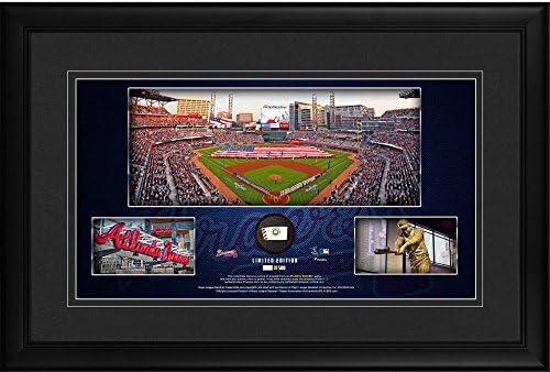 innovative design 87d0d 73db3 Atlanta Braves Framed 10